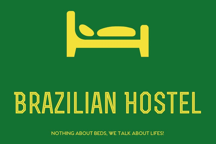 VIII) Brazilian Hostel & Kitchen Shared 4 beds