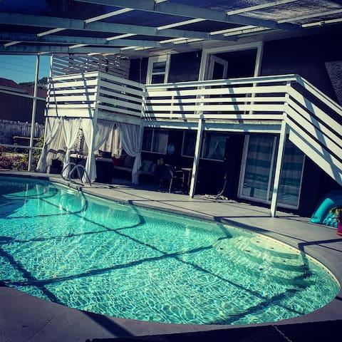 Sunset Beach Pool House