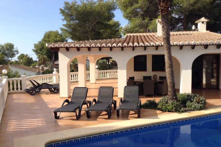 Fabulous Villa in Moraira with Swimming Pool