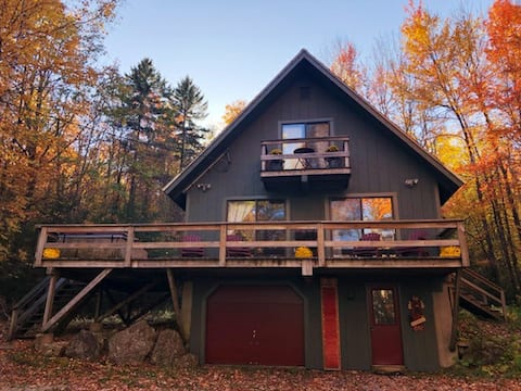 Ragged Mountain House, located on 50 acres.