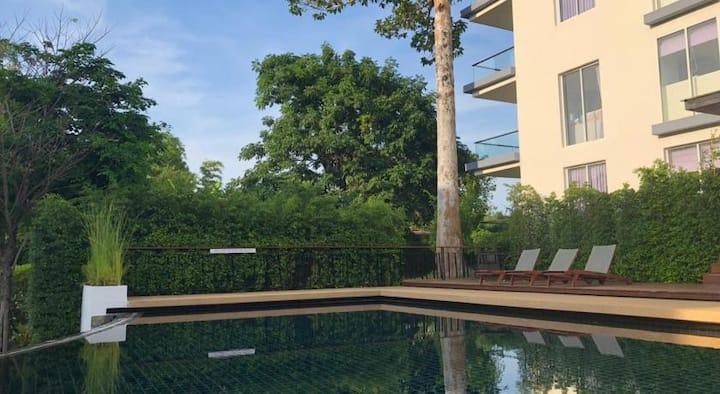 Chaweng Beach 2 Zimmer Apartment Pool u. Fitness