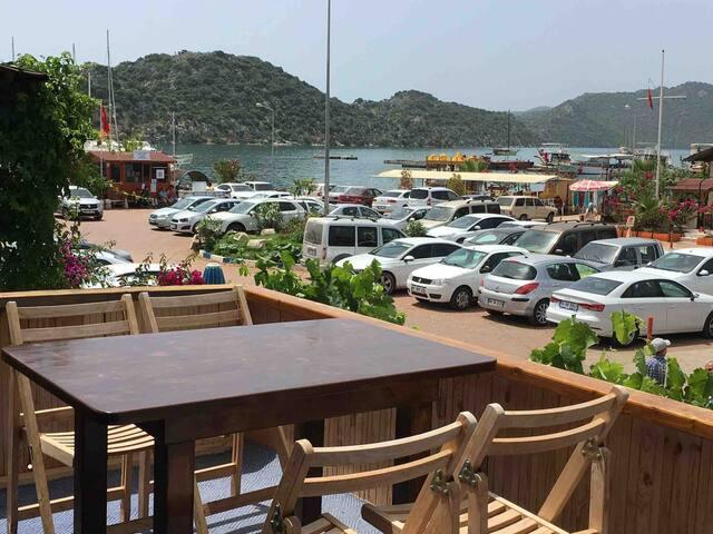 Gönül pansiyon  Kekova/Kaş/Antalya