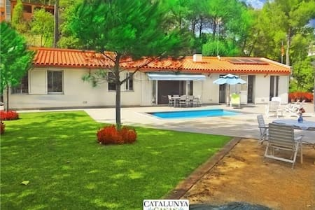 Fabulous and tranquil 4-bedroom countryside villa in Sant Feliu, 25km from Barcelona - Barcelona Region - Villa