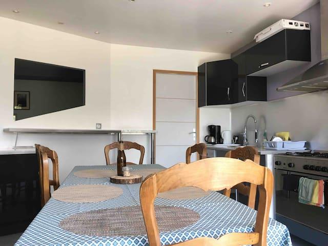 Appartement moderne dans les Bauges