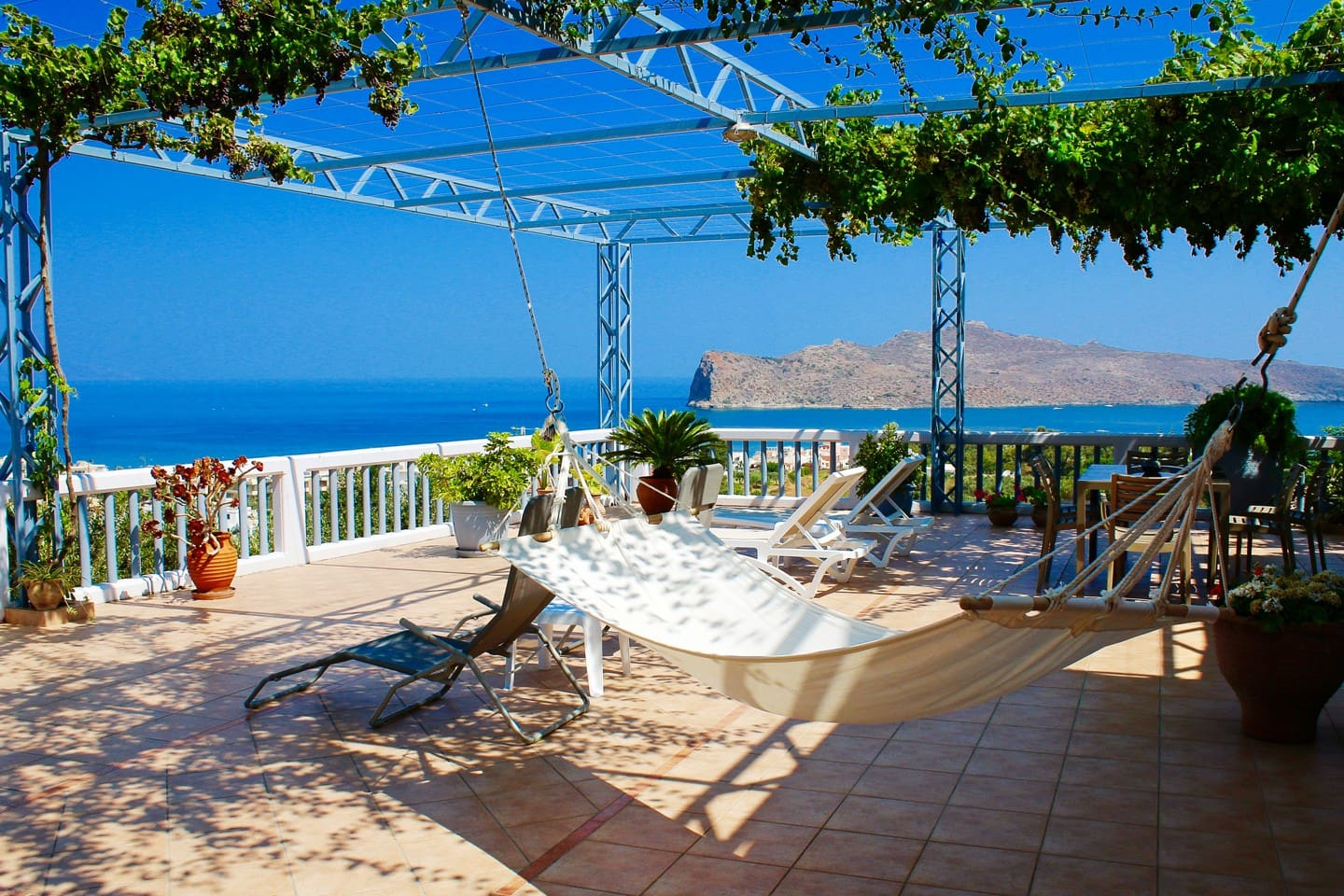 Terrace with panoramic view, like no other!
