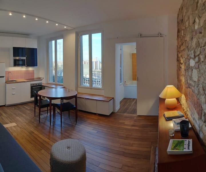 Appartement chaleureux pour vous