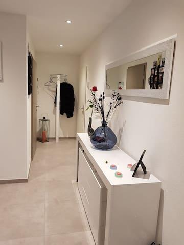 Chambre moderne et calme
