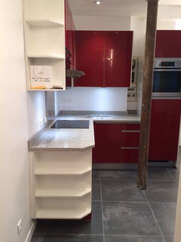 Recently renovated 30m2