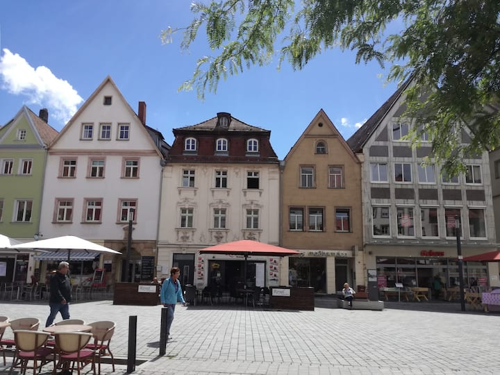 Nice and cozy room in the center of Bayreuth