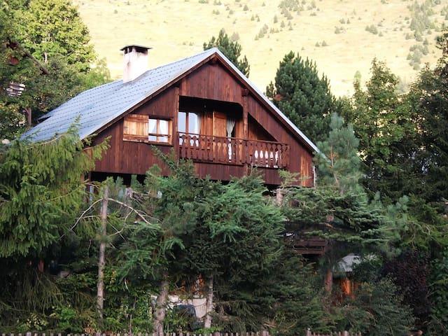 Chalet Bois au pied du Domaine de l'Alpe d'Huez - Villard-Reculas