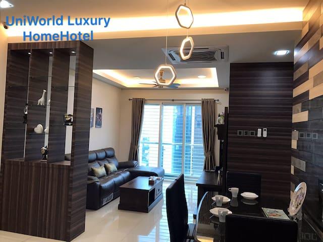Luxury Designer 2 BR near CIQ,City Square 1-6 pax