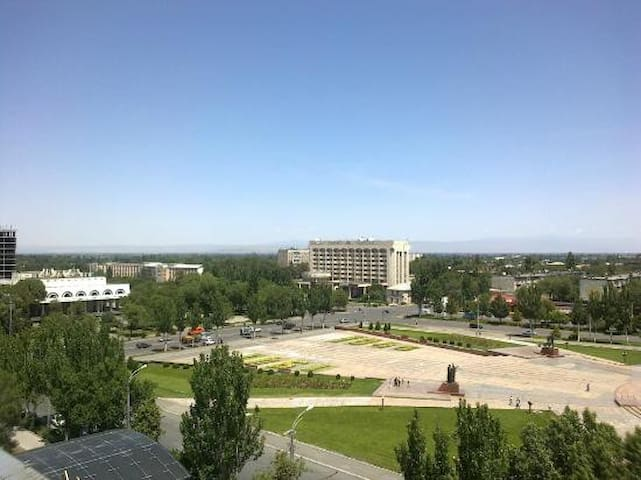 Great location! Perfect stay! - Bishkek - Apartmen