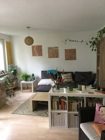 Cosy flat with garden close to the city center