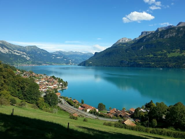 Lakeview Chalet Sunneschyn - Oberried am Brienzersee - Apartamento