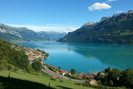 Lakeview Chalet Sunneschyn - Oberried am Brienzersee - Lejlighed