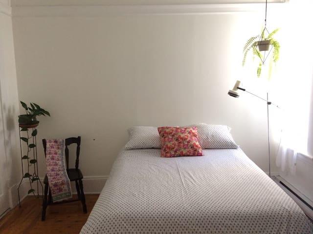 Chaleureuse chambre au centre-ville de Shawinigan