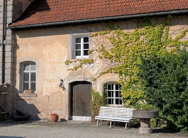 Goosekeeperhouse in castlecomplex - Maroldsweisach - Pensió
