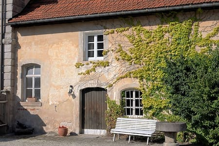 Goosekeeperhouse in castlecomplex - Maroldsweisach - Pension