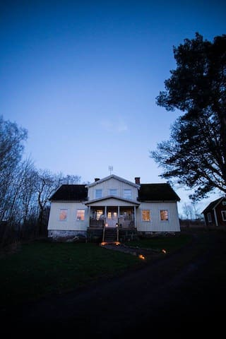 Stort familjevänligt hus