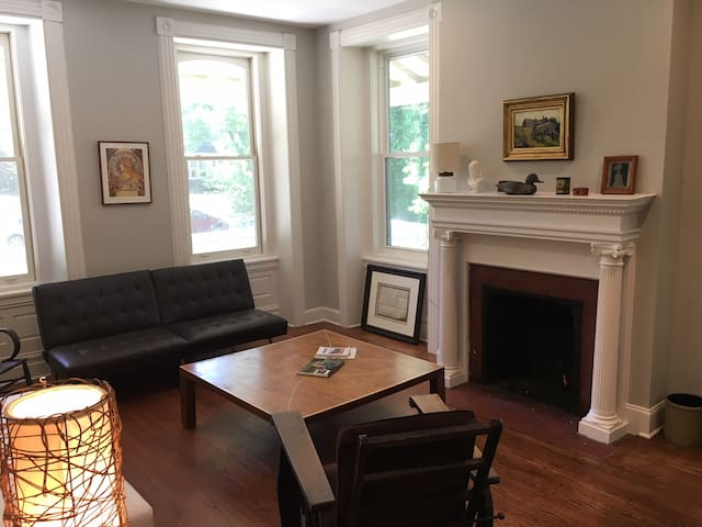 Spacious, Renovated 1 BR Mt. Airy  Mansion Apt