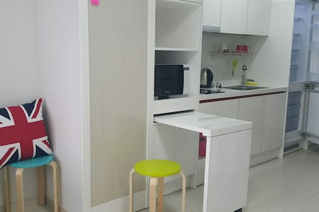 Spacious Private Studio 1 min. Sub.St. 동대구역 1 stop - 대구광역시 - Apartment