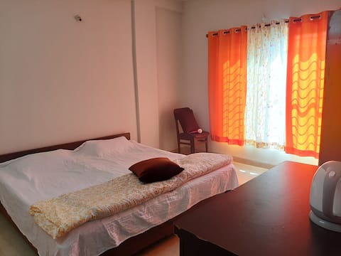 Furnished 2 bhk flat at the centre of bhopal city.