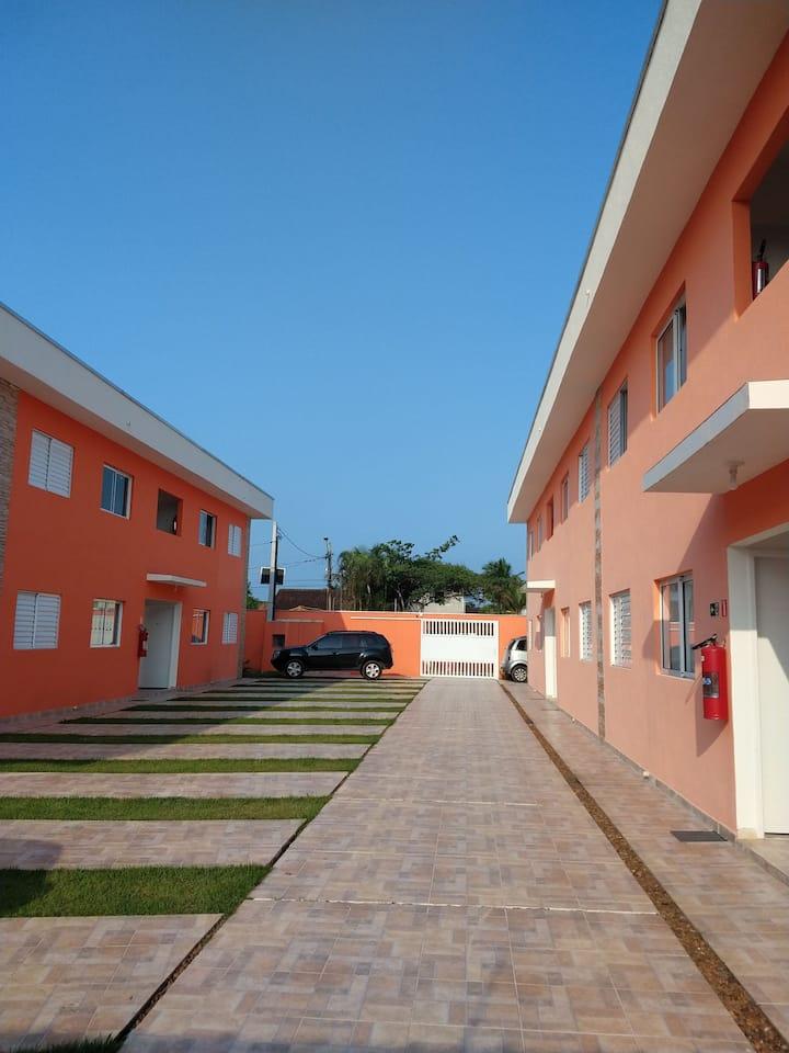 Apartamento inteiro na praia de Boracéia!