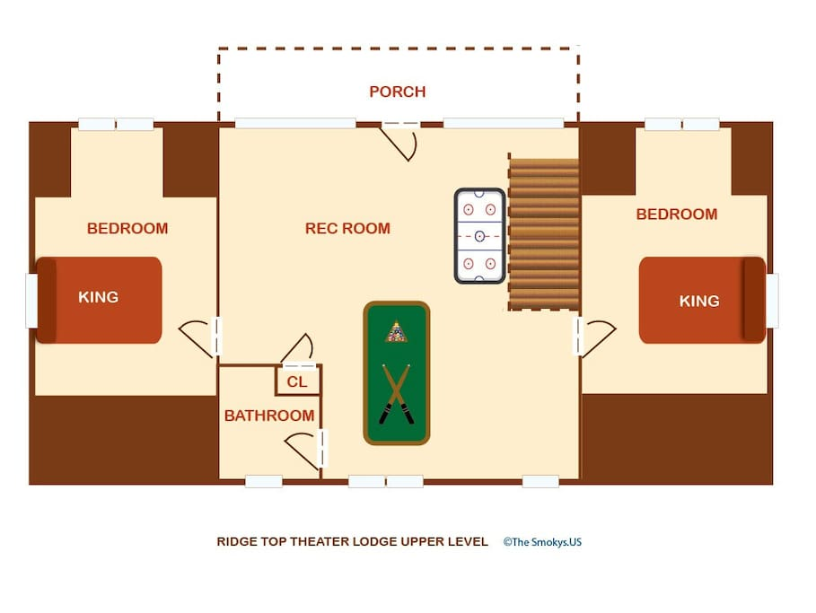 Ridgetop Theatre Lodge-Floor PLan