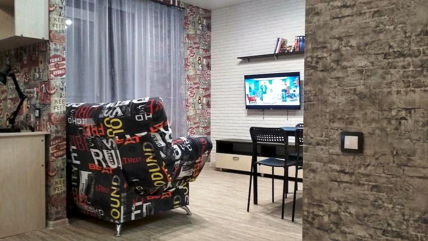 Комфортная квартира для поездок с друзьями, семьей