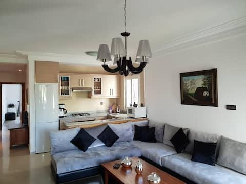 Belle appartement a Marina Golf Asilah
