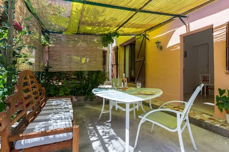 Studio 35 m2 avec jardin à 10 mn de Nice - La Trinité - Rumah