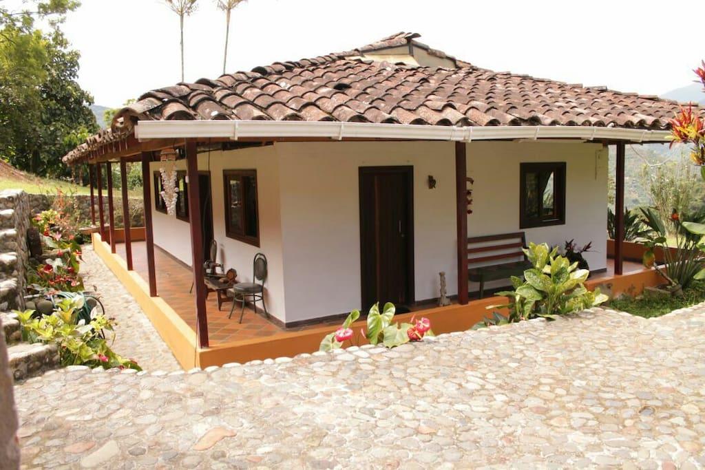 Finca hostal el ed n hostels zur miete in jard n for Jardin kolumbien