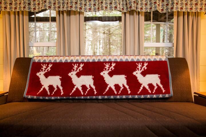 The Norwegian Cottage in the Poconos