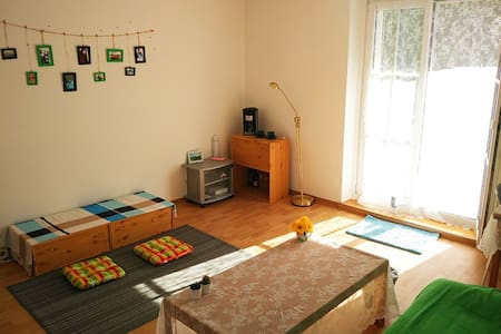 Bright room - Near by the City + Bath & Kitchen - Dresden