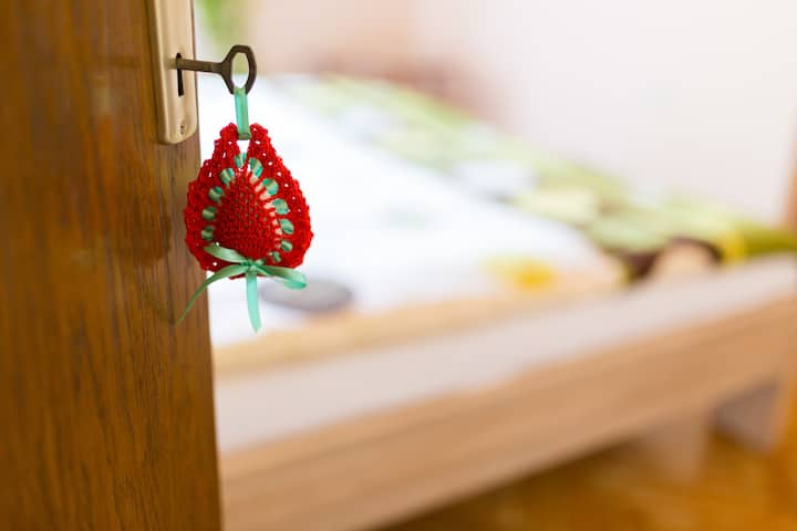 Herbal Homestay V-Triple Room with shared bathroom
