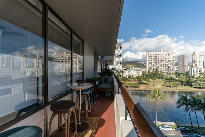 Waikiki Paradise View - Walk to amenities+Parking
