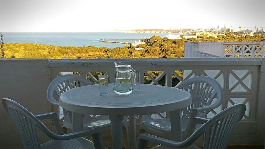 Enjoy refreshments on the terrace