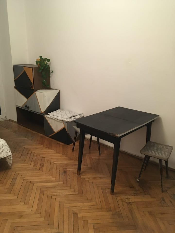 Lovely double room in old Praga Pld