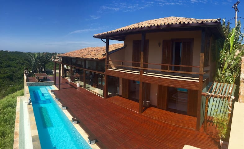 Luxury House in Altos de Buzios.