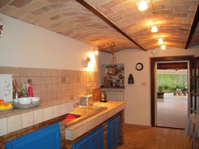 Il refugio self-catering farmhouse - Penne - Huis