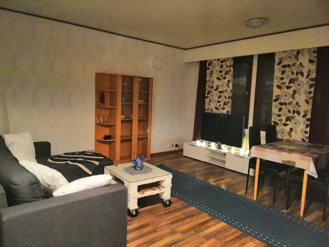 A cosy townhouse with sauna, nearby Ivalo center.