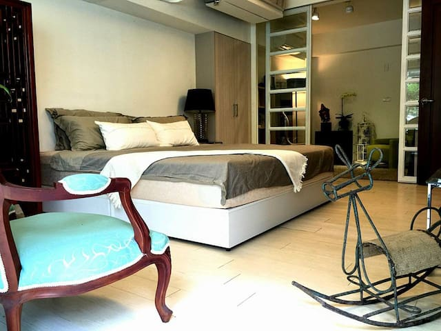 Designer's house 2 設計師的家2館 - Shilin District - Appartement