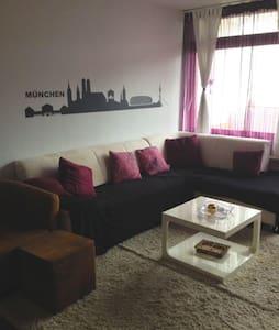 Sonnige 2-Zimmer Wohnung mit Pool und Sauna - 慕尼黑