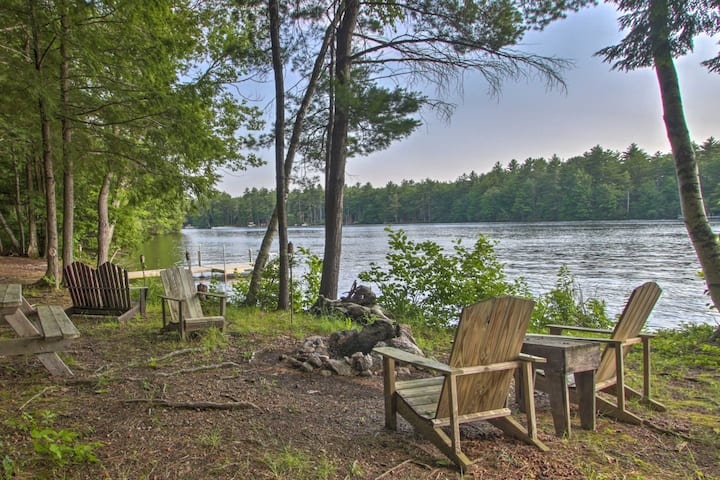 NEW! Pet-Friendly Lake House w/ Dock + Fire Pit!