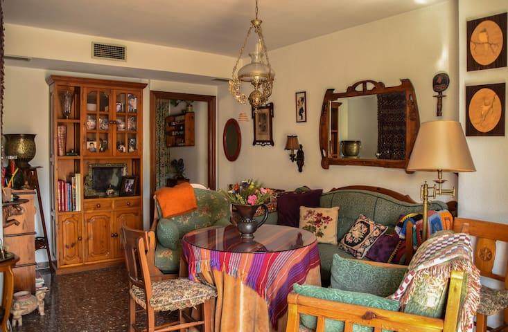 Ático muy céntrico y bonito con garaje - Jaén - Daire