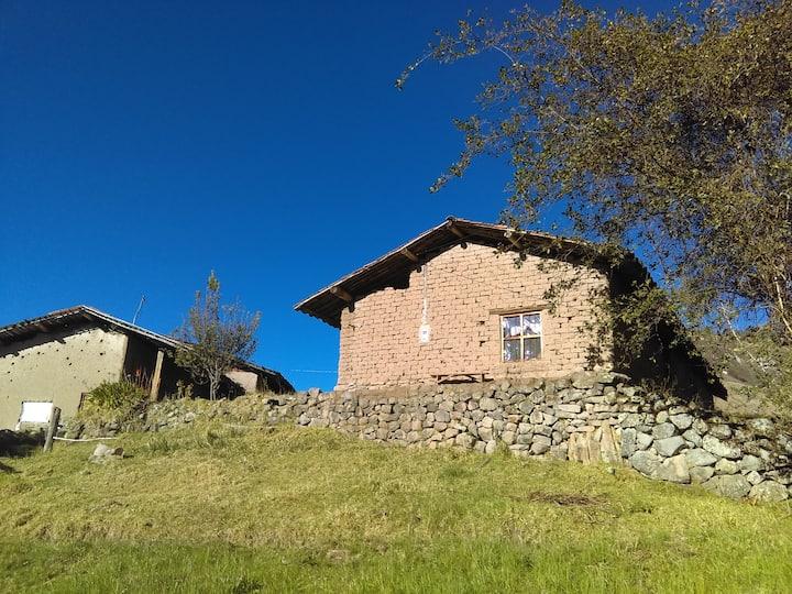 Rustic place in a small farm in Peru highlands