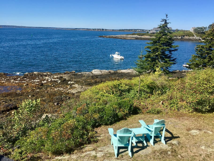 Adirondack Chairs for relaxing and taking in the views