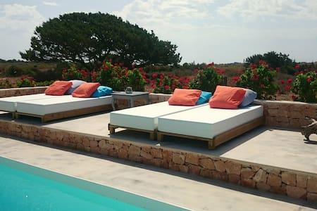 Encantadora casa con piscina - Formentera  - Dům