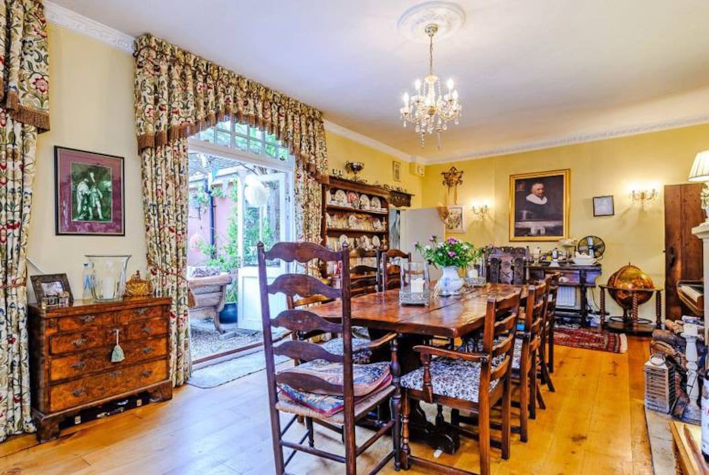 The Dining Room (where Guests take breakfast)