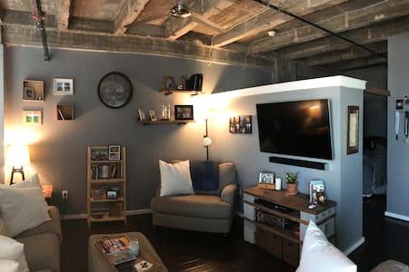 Renovated industrial condo, downtown FW! - Fort Worth - Kondominium